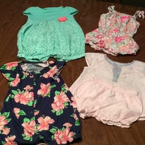4 size 9mon Outfits